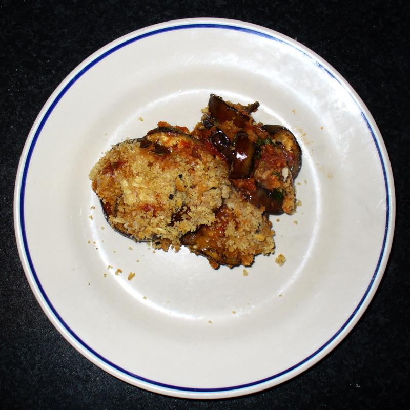 Eggplant (Aubergine) Parmesan